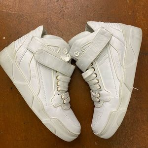 Givenchy white leather tyson high top